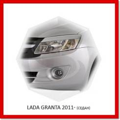 Реснички (накладки) на фары Lada Granta 2011- 2018г