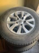 Оригинальные диски Toyota R18 LC200 с зимней резиной