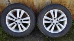 Оригинальные колеса Hyundai с резиной Bridgestone