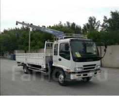 Эвакуатор по краю грузовик с манипулятором бортовой