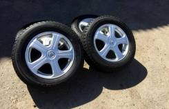 Комплект красивых колёс на жирной зимней резине 205/65R16