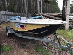 Продам лодку Ока-4 с мотором