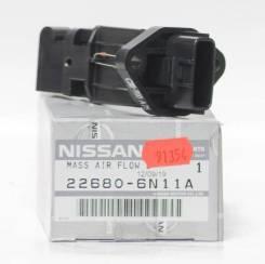 Датчик расхода воздуха Nissan 22680-6N11A, QG15, QG18, QR20