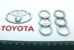 Прокладка под сливную пробку АКПП (Оригинал) Toyota 90430-18008-00,