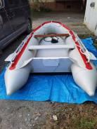 Лодка ПВХ Barrakuda 3,6 м. + мотор Yamaha 20 л. с.