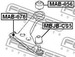 Сайлентблок передний переднего рычага Febest MAB076