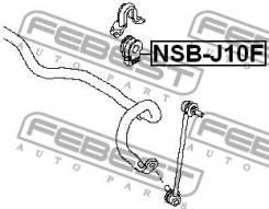 Втулка переднего стабилизатора d23 Febest NSBJ10F