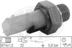 Датчик, давление масла renault / nissan 04-> ERA 330698