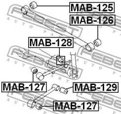 Сайлентблок задней верхней продольной тяги Febest MAB128