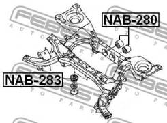 Сайлентблок заднего дифференциала Febest NAB280