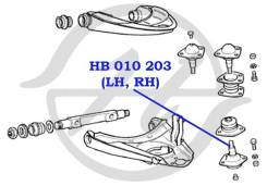 Опора шаровая (2101-07 - универс. ) Hanse HB010203
