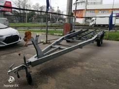 Легковой прицеп Экспедиция - для лодок и катеров 8м двухосный