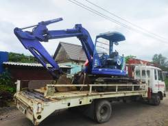 Услуги Экскаватора 5 тонн с отвалом(основной ковш 0.35 м3, + траншейный