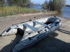 Продам Лодка Gladiator С330 AL, Лодочный мотор Mercury 5