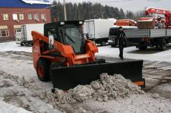 Отвал снеговой на мини-погрузчик Locust L903