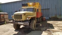Фургон Урал 4320 с манипуляторомром, В г. Уфе, 2005