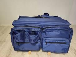 Сумка-накладка на сиденье с мягкой вставкой и карманами