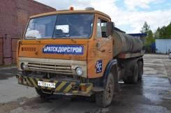 Цистерна Камаз 53213, В г. Братске, 1990