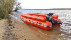 Лодка ПВХ Абакан-420 JET