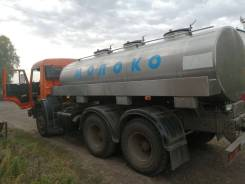 Молоковоз цистерна 7500 литров на шасси Камаз 353215 в Бийске