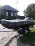 Продам лодку ПВХ Леман 330 с лодочным мотором hadiya 9.9