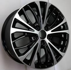 Диск колесный КС873 (ZV 17_Mazda 6) 7.5x17 ЕТ 50 5x114.3 67.1 алмаз черный Арт.74845