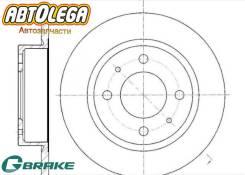 Диск тормозной перед. G-brake MMC eK Wagon eK Sport eK Classy eK Active