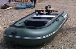 Продам ПХВ лодку с мотором