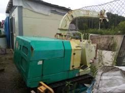 Услуги измельчителя, утилизация древесины, Дробилка самоходная мульчер