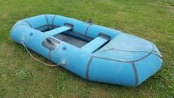 Лодка надувная Омега-21 на веслах