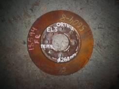 Диск тормозной передний Honda Orthia EL3 262 мм
