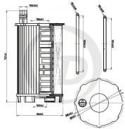 Масляный фильтр Just Drive JFM0024 Volkswagen/Audi