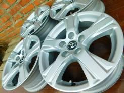 Оригинальный комплект литья R16, «Toyota», 5/114,3