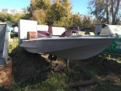 Продам лодку ОБЬ , с местом на лодочной б