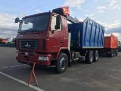 Ломовоз МАЗ 6312С5-8525-012 + КМУ VM10L74M + самосвальный кузов 30м3, 2020