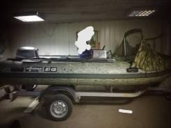 Лодка ПВХ штурман джет 420