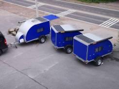 Дом на колёсах, караван капля, новый