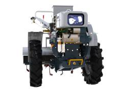 Мотоблок дизельный Скаут 15 DE с почвофрезой и сиденьем