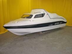Продаем катер (лодку) Неман-500 с каютой пластик.