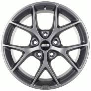 Диск колесный BBS SR 7 x 16 5*114,3 Et: 45 Dia: 82 Satin Himalaya Grey