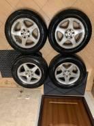Диски + 2 резины(шипы) R16 Mercedes Benz