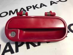 Ручка двери наружная передняя правая Honda LOGO GA# Цвет: Красный