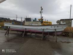 Лодка 8,5метров с поднимающимся валом