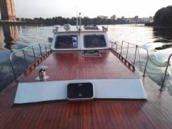 Яхта на базе вельбота по голландском проекту