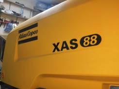 Продается компрессор на шасси с ПТС Atlas Copco XAS88