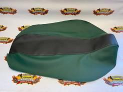 Обшивка (обтяжка) универсальная темно-зеленый черный