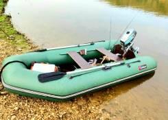 Лодка пвх Хантер 320+мотор Микатсу 4