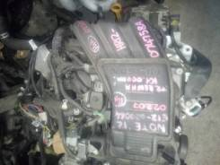 Двигатель HR12DE Nissan Note E12 2012 года.