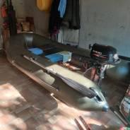 Лодка ПВХ + мотор 2.5 л/с