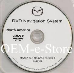 Загрузочный диск навигации для Mazda CX-7/СХ-9